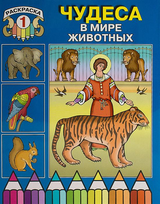 чудеса в мире животных раскраска 1 обл синяя святой с