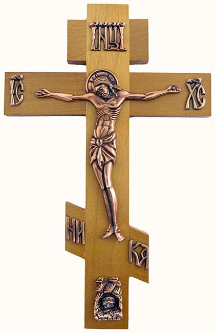 схема распятие христа